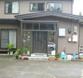 K様邸 玄関風除室工事のリフォーム後画像