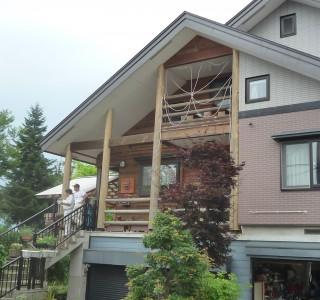 S様邸 外部塗装工事のリフォーム前画像