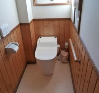 トイレ 1DAYリフォームのリフォーム後画像
